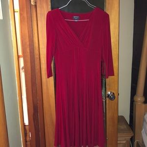 American Living size 6 red dress w/tags